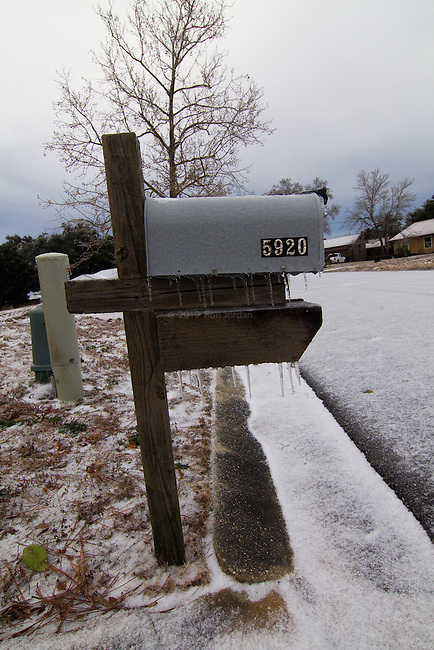 Pensacola Ice Storm Images 2014
