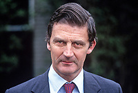 James Hamilton, Duke of Abercorn, 5th Duke, Baronscourt Castle, Newtownstewart, Co Tyrone, N Ireland, 19850713DA1.<br />