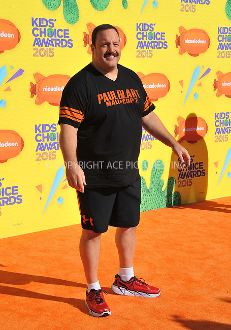 WWW.ACEPIXS.COM<br /> <br /> March 28 2015, LA<br /> <br /> Kevin James arriving at Nickelodeon's 28th Annual Kids' Choice Awards at The Forum on March 28, 2015 in Inglewood, California. <br /> <br /> <br /> By Line: Peter West/ACE Pictures<br /> <br /> <br /> ACE Pictures, Inc.<br /> tel: 646 769 0430<br /> Email: info@acepixs.com<br /> www.acepixs.com