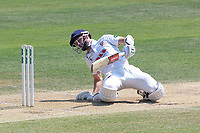 Injury concern after James Foster of Essex is struck by a Boyd Rankin delivery during Essex CCC vs Warwickshire CCC, Specsavers County Championship Division 1 Cricket at The Cloudfm County Ground on 20th June 2017
