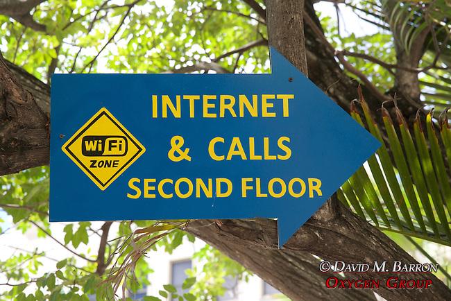 Internet & Calls Sign, Punda
