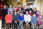 Bridie O'Sullivan Tullig killorglin who celebrated her 60th birthday with her family and friends in Lord Kenmares restaurant on Saturday night