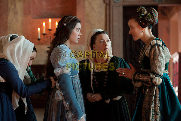 Hailee Steinfeld, Lesley Manville, Natascha McElhone<br /> in Romeo and Juliet (2013) <br /> *Filmstill - Editorial Use Only*<br /> CAP/FB<br /> Image supplied by Capital Pictures