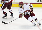 Steven Whitney (BC - 21) - The Boston College Eagles defeated the University of Massachusetts-Amherst Minutemen 5-2 on Saturday, March 13, 2010, at Conte Forum in Chestnut Hill, Massachusetts, to sweep their Hockey East Quarterfinals matchup.