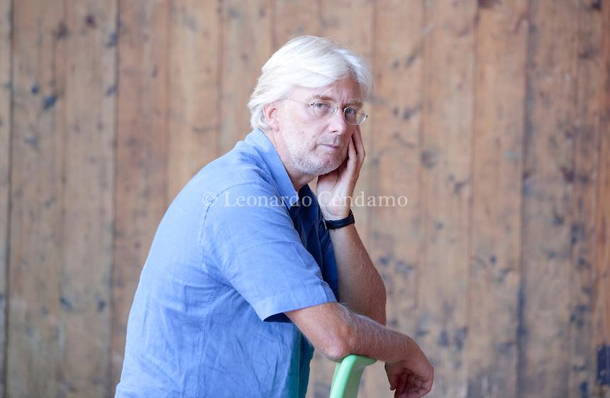 Silvio Perrella, italian writer. Mantova, 2011.  © Leonardo Cendamo