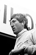 Watkins Glen, New York, USA. 01 Oct 1967. Austrian Formula One racecar driver Jochen Rindt attends the 1967 Watkins Glen Formula One Grand Prix.