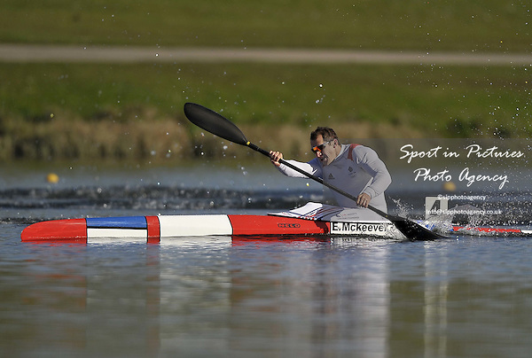 Ed McKeever. Mens K1 200m Final. Day 2. British Canoeing Sprint Olympic trials. National Water Sports Centre. Holme Pierrepont. Nottingham. UK. 18/04/2016. ~ MANDATORY Credit Garry Bowden/Sportinpictures - NO UNAUTHORISED USE - 07837 394578