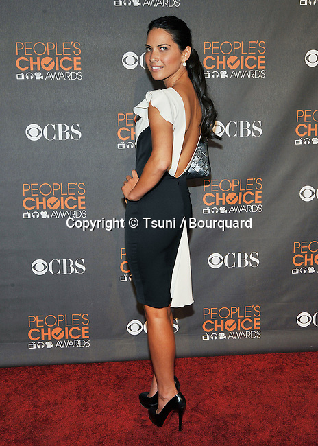 Olivia Munn _121  -<br /> People&rsquo;s Choice Awards 2010 at the Nokia Theatre In Los Angeles.
