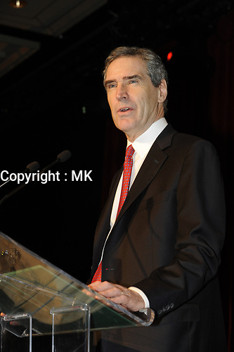 Laval (QC) CANADA, March 21 2009 -<br /> Liberal Leader Michael Ignatieff adress the Quebec troup of the Liberal Party of Canada, at a GENERAL COUNCIL held in Laval, North of Montreal.