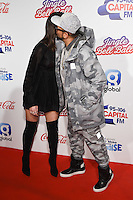 Dua Lipa and Sean Paul<br /> at the Jingle Bell Ball 2016, O2 Arena, Greenwich, London.<br /> <br /> <br /> ©Ash Knotek  D3208  03/12/2016