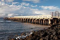Old Lahaina Pier, Maui, Hawaii