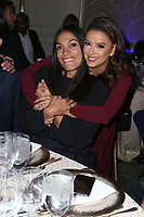 LOS ANGELES, CA - NOVEMBER 8: Rosario Dawson and Eva Longoria at the Eva Longoria Foundation Dinner Gala honoring Zoe Saldaña and Gina Rodriguez at The Four Seasons Beverly Hills in Los Angeles, California on November 8, 2018. Credit: Faye Sadou/MediaPunch