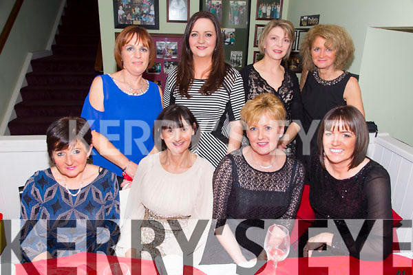 Staff from Kerry General Hospital Day Ward. enjoying their christmas party in the Brogue on Saturday Front l-r Nora Moore, Catherine O'Halloran, Diane O'Connor, Majella Cahill.  Back l-r Fiona Horan, Rachel Tobin, Sheila Somers, Joan Barry.