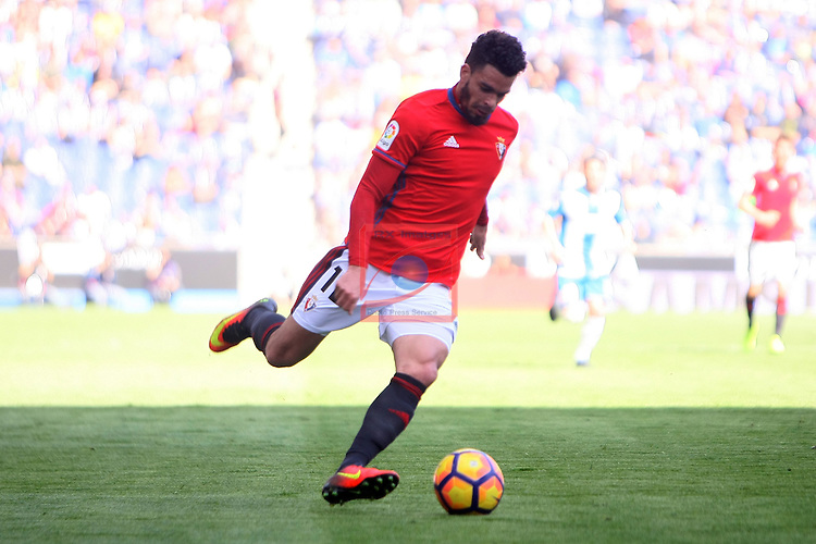 League Santander 2016/2017. Game: 24.<br /> RCD Espanyol vs CA Osasuna: 3-0.<br /> Riviere.
