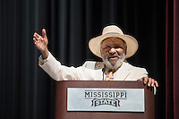 &quot;James Meredith and the March Against Fear&quot; panel discussion -African American Studies 10th Anniversary event. James Meredith.<br />  (photo by Megan Bean / &copy; Mississippi State University)