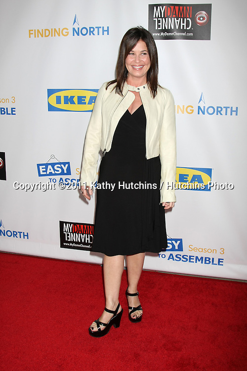 """LOS ANGELES - OCT 10:  Julie Warner arriving at the Web-series """"EASY TO ASSEMBLE""""  FINDING NORTH webisode Premiere at the Egyptian Theatre on October 10, 2011 in Los Angeles, CA"""