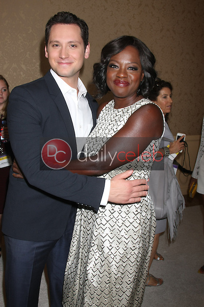 Matt McGorry, Viola Davis<br /> at the ABC TCA Summer Press Tour 2015 Party, Beverly Hilton Hotel, Beverly Hills, CA 08-04-15<br /> David Edwards/DailyCeleb.com 818-249-4998
