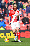 Adam Clayton of Middlesbrough - Middlesbrough vs. Leeds United - Skybet Championship - Riverside Stadium - Middlesbrough - 21/02/2015 Pic Philip Oldham/Sportimage
