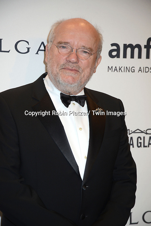 Peter Lindbergh attends the amfAR New York Gala on February 5, 2014 at Cipriani Wall Street in New York City.