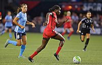 Portland, OR - Saturday July 02, 2016: Shade Pratt during a regular season National Women's Soccer League (NWSL) match between the Portland Thorns FC and Sky Blue FC at Providence Park.