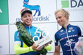 5 etape af Postnord Danmark Rundt <br /> Michael Valgren team Tinkoff vinder af Postnord Danmark Rundt 2016 sammen Mads W&uuml;rtz Schmidt som blev samlet nr. 3