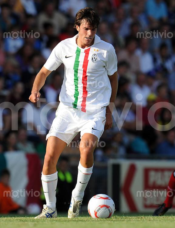 FUSSBALL     1. BUNDESLIGA     SAISON 2010/2011     TESTSPIEL Hamburger SV - Juventus Turin           18.07.2010  Paolo DE CEGLIE (Juventus Turin)