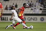 Al Sadd vs Foolad Khuzestan during the 2015 AFC Champions League Group C match on April 21, 2015 at the Jassim Bin Hamad Stadium in Doha, Qatar. Photo by Adnan Hajj / World Sport Group