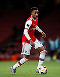 Arsenal's Joe WIllock during the UEFA Champions League match at the Emirates Stadium, London. Picture date: 28th November 2019. Picture credit should read: David Klein/Sportimage