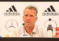 Torwarttrainer Andreas Koepke (Deutschland Germany) - 29.05.2018: Pressekonferenz der Deutschen Nationalmannschaft zur WM-Vorbereitung in der Sportzone Rungg in Eppan/Südtirol