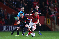 Josh Cullen of Charlton, currently on loan from West Ham in action during Charlton Athletic vs Doncaster Rovers, Sky Bet EFL League 1 Play-Off Football at The Valley on 17th May 2019