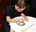 Ben Platt attends the Ben Platt Sardi's Portrait unveiling at Sardi's on May 30, 2017 in New York City.