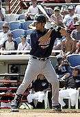March 29, 2004:  Catcher Joe Mauer of the Minnesota Twins organization during Spring Training at Dunedin Stadium in Dunedin, FL.  Photo copyright Mike Janes/Four Seam Images