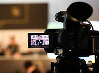 Julian Draxler (Deutschland, Germany) im Fokus der Medien- 06.06.2019: Pressekonferenz der Deutschen Nationalmannschaft zur EM-Qualifikation in Venlo/NL