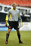 17 July 2004: Kevin Hartman. Los Angeles Galaxy tied DC United 1-1 at RFK Stadium in Washington, DC during a regular season Major League Soccer game..
