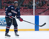Joseph Masonius (UConn - 13) - The University of Maine Black Bears defeated the University of Connecticut Huskies 4-0 at Fenway Park on Saturday, January 14, 2017, in Boston, Massachusetts.