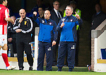 St Johnstone v Rangers....05.04.11 .Ally McCoist shouts instructions.Picture by Graeme Hart..Copyright Perthshire Picture Agency.Tel: 01738 623350  Mobile: 07990 594431