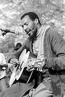 May 11th 1975, Manhattan, New York.<br /> Richie Havens appeared at The War Is Over concert in New York's Central Park in front of a crowd of more than 100.000 people.