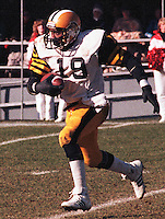 Johnny Shepherd Hamilton Tiger Cats 1983. Copyright photograph Scott Grant