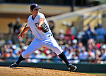 11 March 2009: Detroit Tigers' pitcher Casey Fien on the mound during a Spring Training game against the New York Yankees at Joker Marchant Stadium in Lakeland, Florida. The Tigers defeated the Yankees 7-4 in the Grapefruit League matchup. Mandatory Photo Credit: Ed Wolfstein Photo
