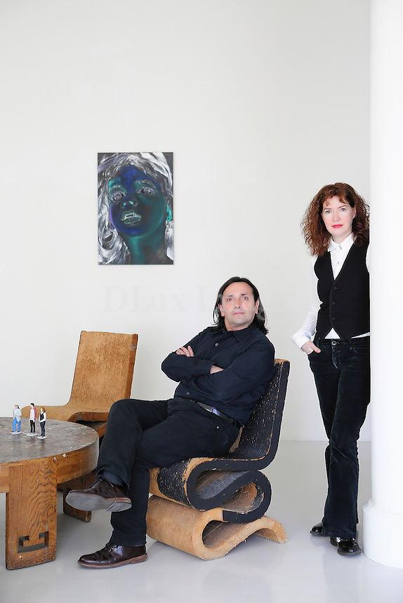 Ena Swansea-Tony Guerrero portrait Artist