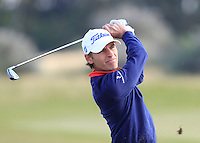 Joakim Lagergren (SWE) on the 9th fairway during Round 3 of the 2015 Alfred Dunhill Links Championship at Kingsbarns in Scotland on 3/10/15.<br /> Picture: Thos Caffrey | Golffile