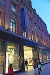 Pennys department store shop at night, city of Dublin, Ireland, Irish Republic