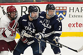 Lewis Zerter-Gossage (Harvard - 77), Charlie Curti (Yale - 23), Joe Snively (Yale - 7) - The Harvard University Crimson tied the visiting Yale University Bulldogs 1-1 on Saturday, January 21, 2017, at the Bright-Landry Hockey Center in Boston, Massachusetts.