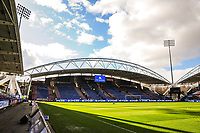 Huddersfield Town's  South stand during the EPL - Premier League match between Huddersfield Town and Crystal Palace at the John Smith's Stadium, Huddersfield, England on 17 March 2018. Photo by Stephen Buckley / PRiME Media Images.