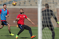 Chattanooga, TN - February 1, 2017: The USMNT train in preparation for their international friendly match against Jamaica at Finley Stadium.