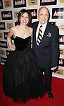 Arielle Tepper Madover & Charles Strouse attending the Broadway Opening Night Performance After Party for 'Annie' at the Hard Rock Cafe in New York City on 11/08/2012