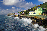 British Virgin Islands, Tortola, Road Town, Caribbean, BVI, Prospect Reef Resort in Road Town on the island of Tortola on the Caribbean Sea.