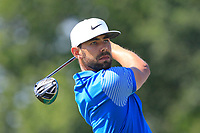 Erik Van Rooyen (RSA) on the 4th tee during Round 1 of the HNA Open De France at Le Golf National in Saint-Quentin-En-Yvelines, Paris, France on Thursday 28th June 2018.<br /> Picture:  Thos Caffrey | Golffile