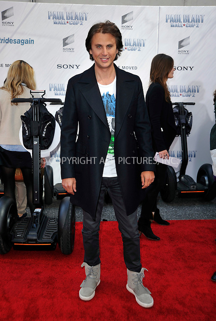 WWW.ACEPIXS.COM<br /> <br /> April 11 2015, New York City<br /> <br /> Jonathan Cheban arriving at the 'Paul Blart: Mall Cop 2' New York Premiere at AMC Loews Lincoln Square on April 11, 2015 in New York City.<br /> <br /> By Line: Curtis Means/ACE Pictures<br /> <br /> <br /> ACE Pictures, Inc.<br /> tel: 646 769 0430<br /> Email: info@acepixs.com<br /> www.acepixs.com
