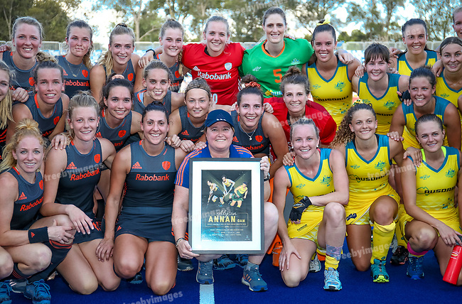 Hockey Australia<br /> Hockey Pro League Melbourne<br /> SNHC Melbourne <br /> 02/02/19<br /> Australia v Netherlands<br /> <br /> <br /> Photo: Grant Treeby